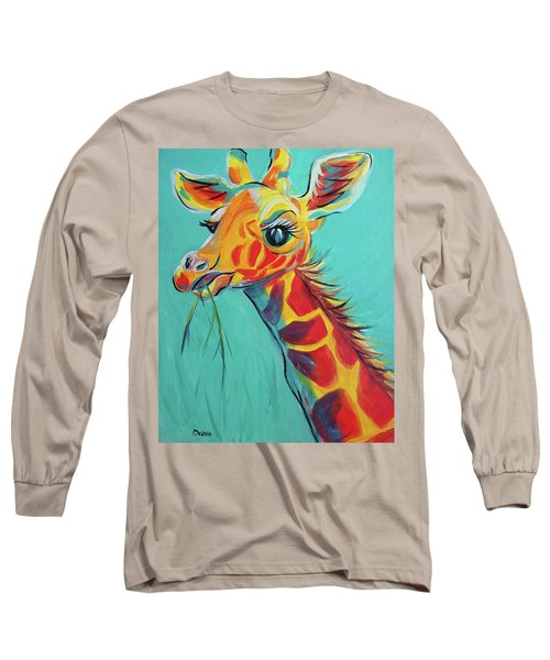 Hungry Giraffe Long Sleeve T-Shirt