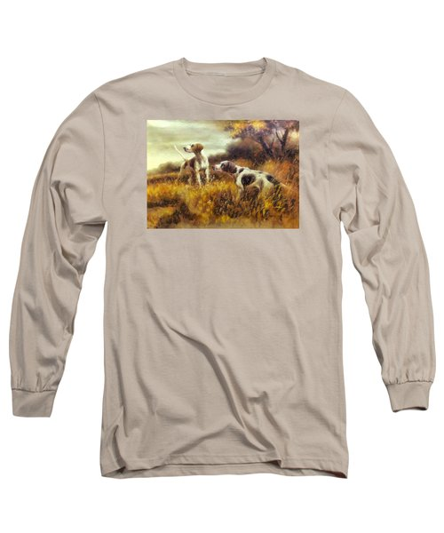 Hunting Dogs No1 Long Sleeve T-Shirt by Charmaine Zoe