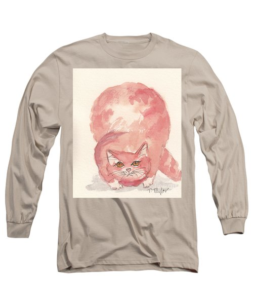 Long Sleeve T-Shirt featuring the painting Hunting by Terry Taylor