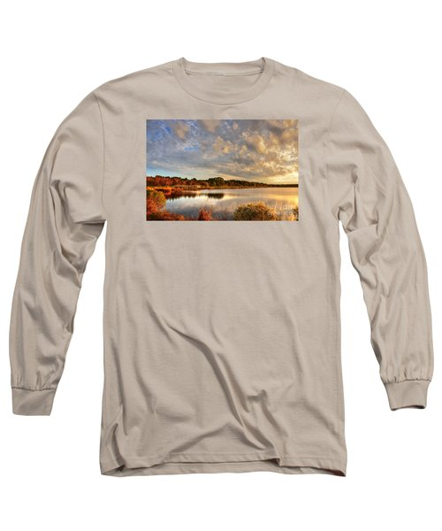 Huntington Beach At Dusk Long Sleeve T-Shirt