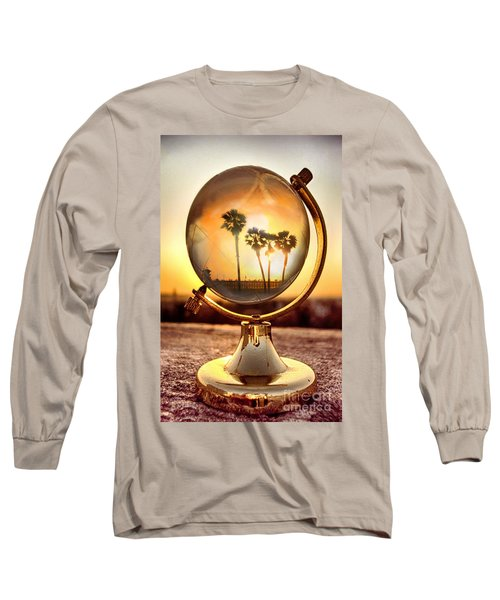 Huntington Beach Globe Long Sleeve T-Shirt