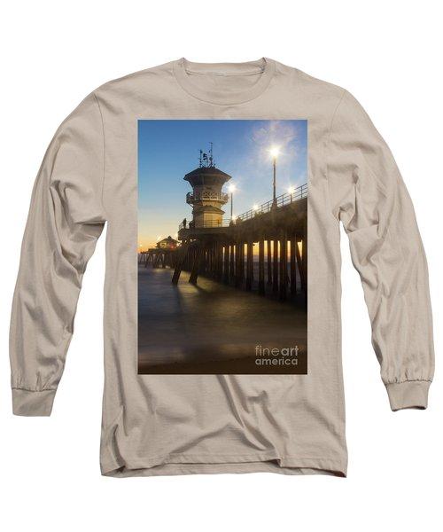 Huntington Peir  Long Sleeve T-Shirt