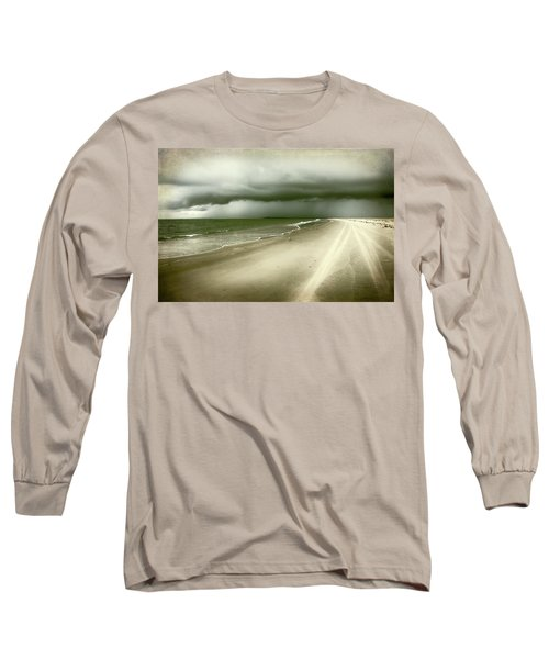 Hurricane Storm Ocracoke Island Outer Banks Long Sleeve T-Shirt