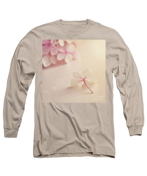 Long Sleeve T-Shirt featuring the photograph Hydrangea Flower by Lyn Randle