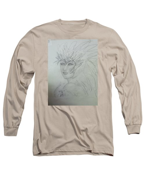 I Am The Phoenix Long Sleeve T-Shirt by Sharyn Winters