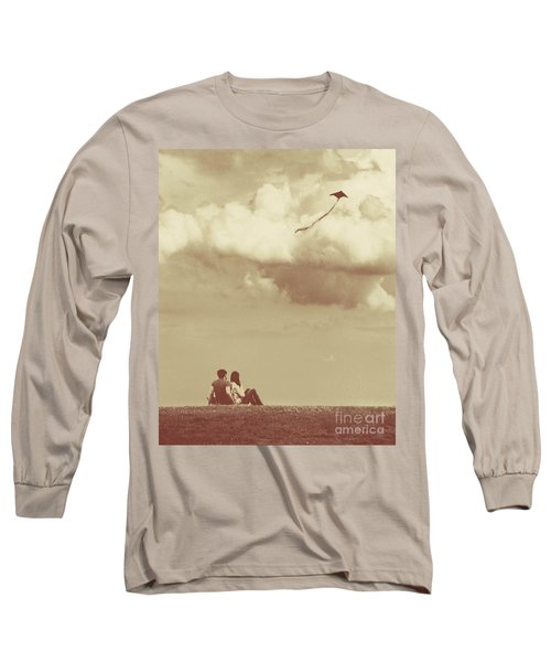 I Had A Dream I Could Fly From The Highest Swing Long Sleeve T-Shirt