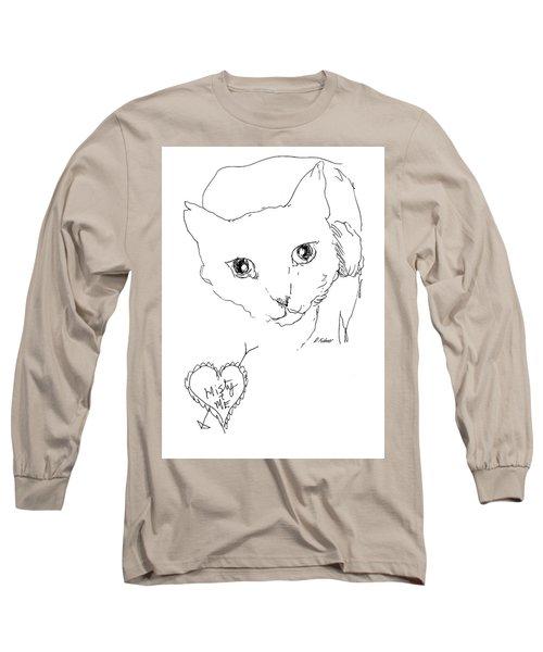 I Love Misty Long Sleeve T-Shirt