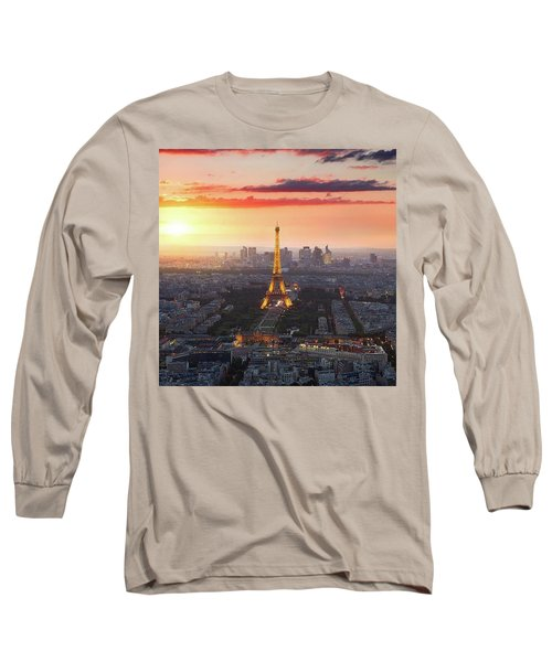 I Love Paris Long Sleeve T-Shirt
