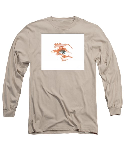 Long Sleeve T-Shirt featuring the drawing I O'thy Self by James Lanigan Thompson MFA