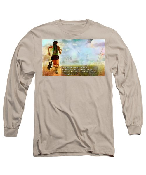 I Press - Female And Text Long Sleeve T-Shirt