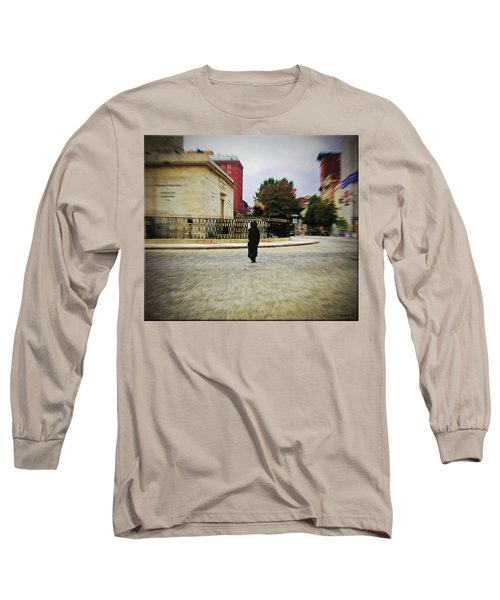 Long Sleeve T-Shirt featuring the photograph I Walk Alone by Brian Wallace
