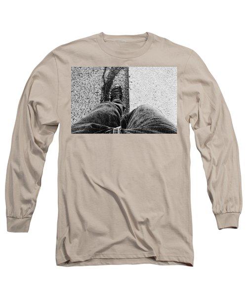 I Walk The Line Long Sleeve T-Shirt