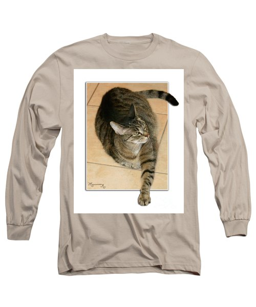 I Was Here First, Ok? Long Sleeve T-Shirt by Mariarosa Rockefeller