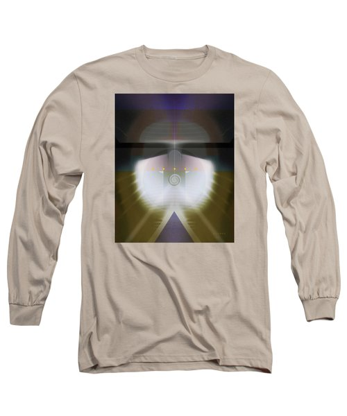 I Wish I Was A Headlight On A Northbound Train Long Sleeve T-Shirt by David Klaboe