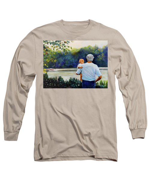 Ian And His Daddy One Sunday Afternoon Long Sleeve T-Shirt