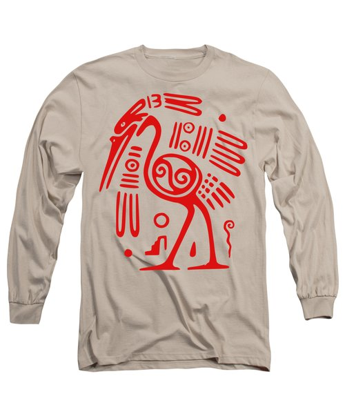 Ibis Long Sleeve T-Shirt by Frederick Holiday