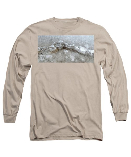 Ice And The Beach Four  Long Sleeve T-Shirt by Lyle Crump