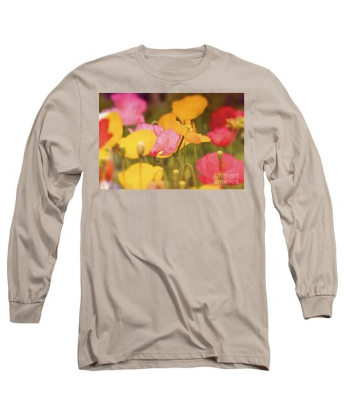 Iceland Poppies Warmly Long Sleeve T-Shirt