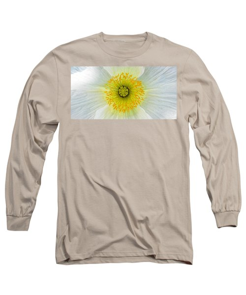 Iceland White Poppy Long Sleeve T-Shirt