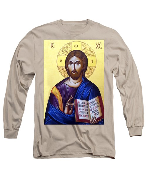 Icon Of Christ In Jericho Long Sleeve T-Shirt