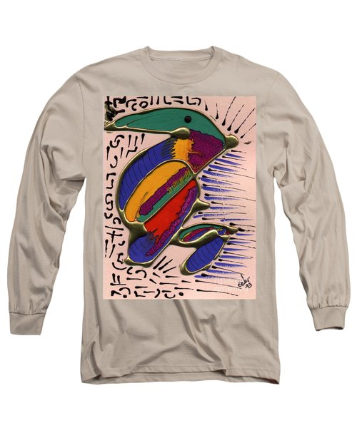 If Only I Could Fly Long Sleeve T-Shirt by Angela L Walker