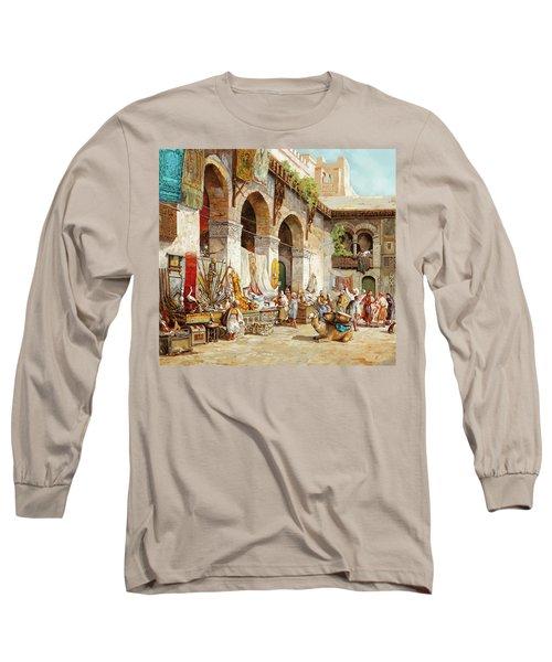 Il Mercato Arabo Long Sleeve T-Shirt