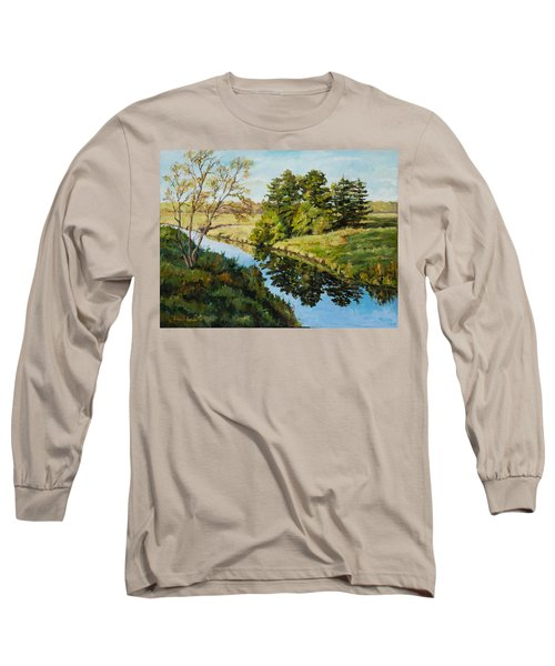 Illinois Countryside  Long Sleeve T-Shirt