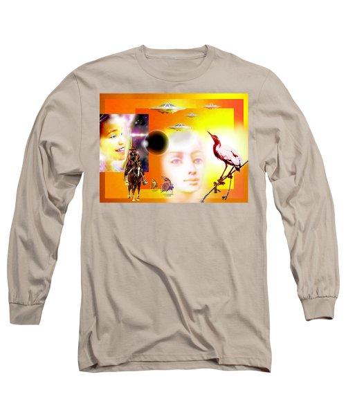 Illusion  Of Reality Long Sleeve T-Shirt