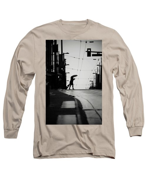 Im Leaving But Never  Long Sleeve T-Shirt by Empty Wall