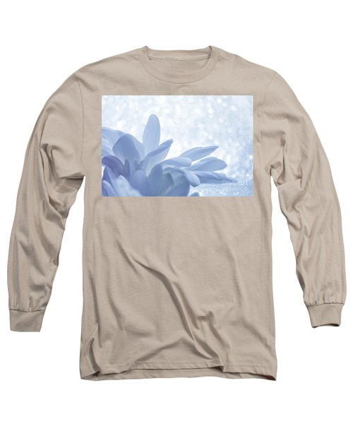 Long Sleeve T-Shirt featuring the digital art Immobility - Wh01t2c2 by Variance Collections