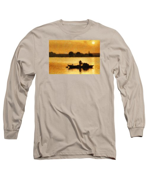 Impressionist Dawn Long Sleeve T-Shirt