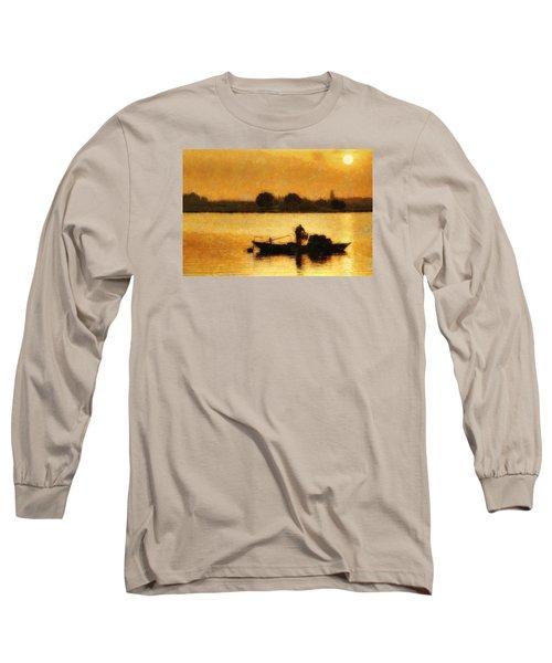 Impressionist Dawn Long Sleeve T-Shirt