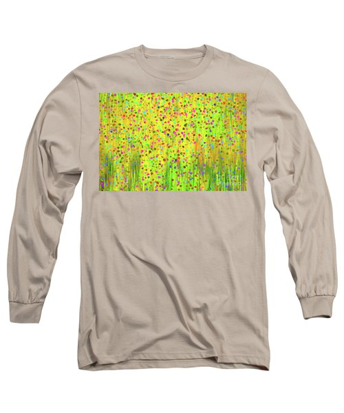 Impressionist Meadow Long Sleeve T-Shirt