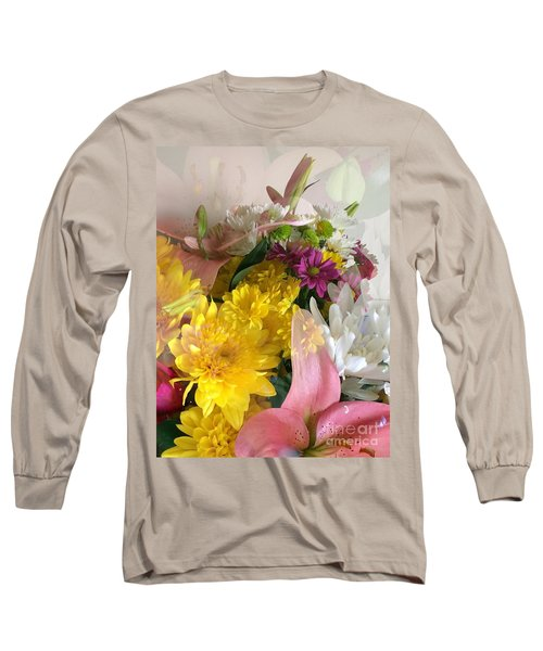 Impressionist Spring Bouquet Long Sleeve T-Shirt