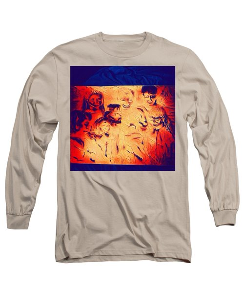 In Heaven With Jesus Long Sleeve T-Shirt
