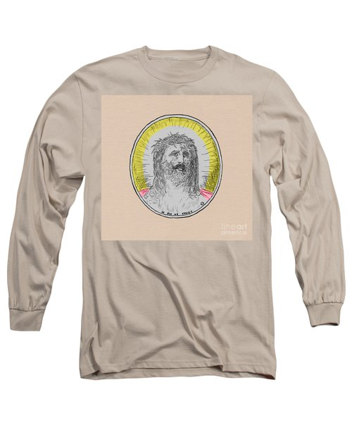 In Him We Trust Colorized Long Sleeve T-Shirt