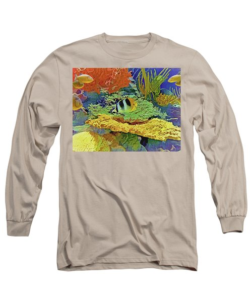 In The Coral Garden 10 Long Sleeve T-Shirt