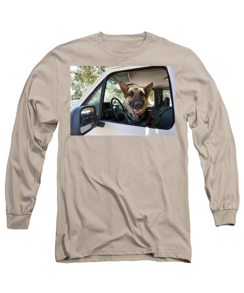 In The Driver's Seat  Long Sleeve T-Shirt
