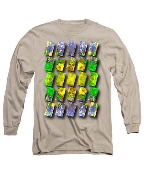 In The Fractured Gardens Long Sleeve T-Shirt