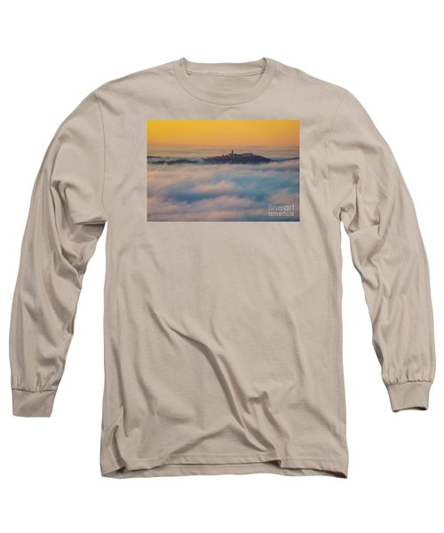 In The Mist 3 Long Sleeve T-Shirt by Jean Bernard Roussilhe