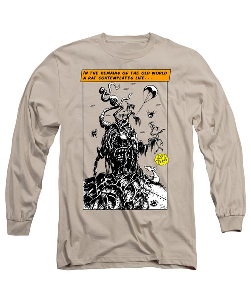 In The Remains Of The Old World Long Sleeve T-Shirt