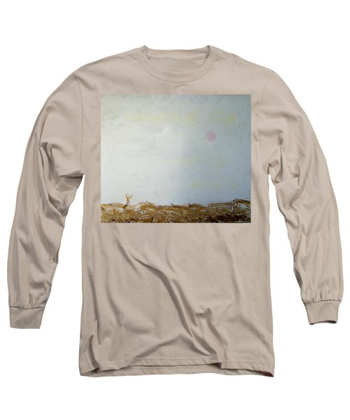 Long Sleeve T-Shirt featuring the painting Incredible Lightness Of Being by Lenore Senior
