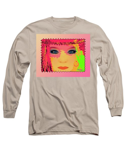 Long Sleeve T-Shirt featuring the photograph Indian #193 by Barbara Tristan