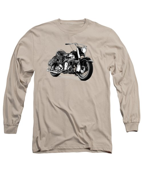 Indian Chief Roadmaster 1953 Long Sleeve T-Shirt