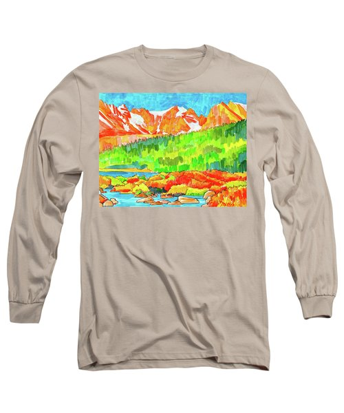 Indian Peaks Wilderness Long Sleeve T-Shirt