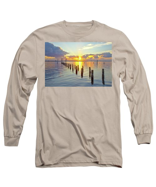Indian River Sunrise Long Sleeve T-Shirt
