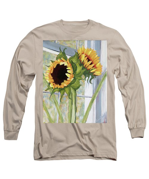 Indoor Sunflowers II Long Sleeve T-Shirt