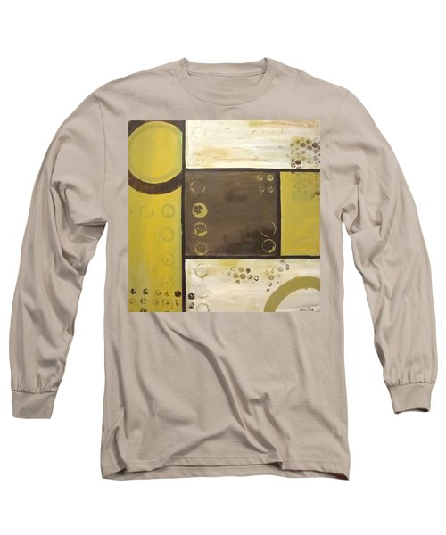 Industrial Circles No.2 Long Sleeve T-Shirt by Steven R Plout