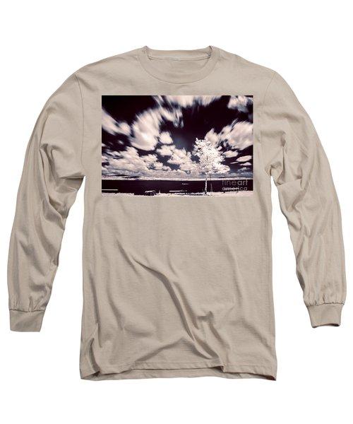 Infrared Lake Long Sleeve T-Shirt