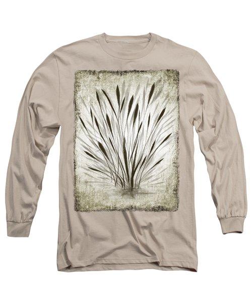 Ink Grass Long Sleeve T-Shirt